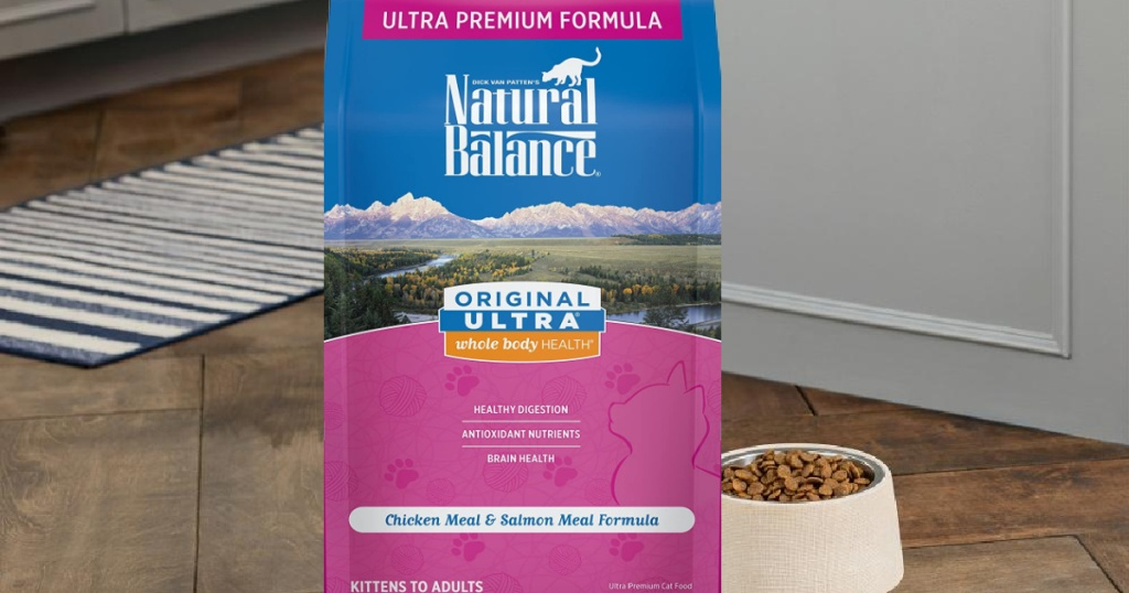 Natural Balance Original Ultra Whole Body Health Dry Cat Food 6-Lb Bag