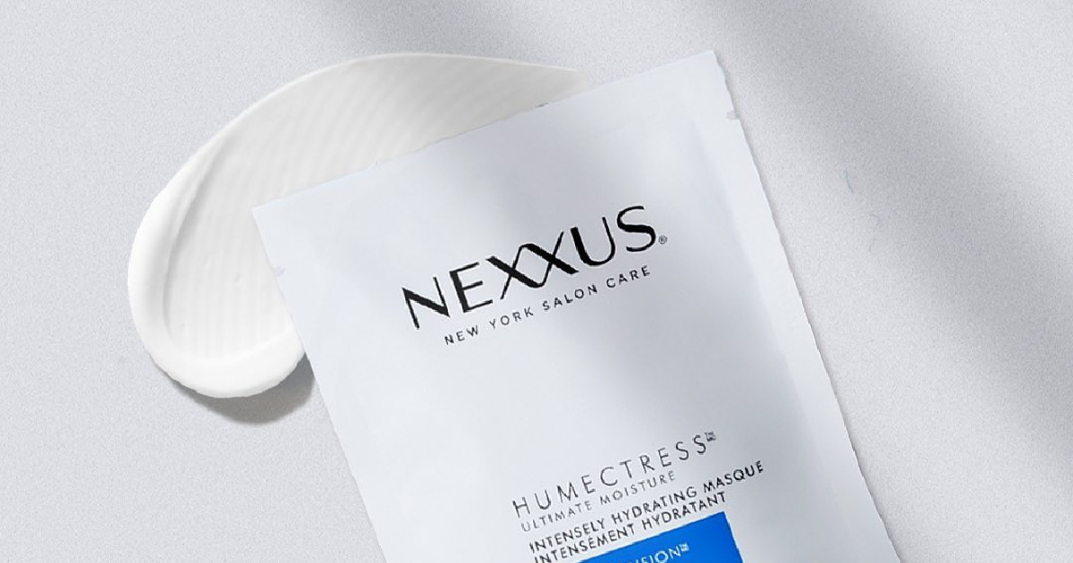 Nexxus Humectress Masque with smear