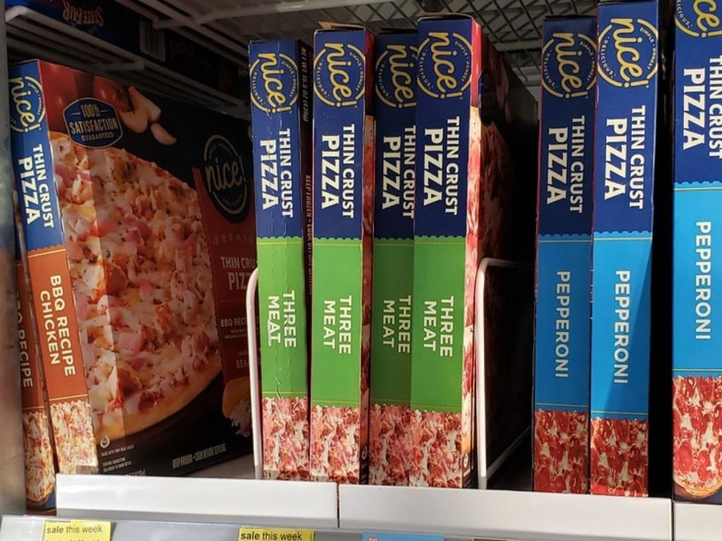 Nice! Frozen Thin Crust Pizza
