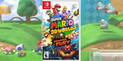 Super Mario 3D World + Bowsers Fury Nintendo Switch Video Game Only $49.99 Shipped on Amazon (Regularly $60)