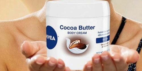 NIVEA Cocoa Butter Body Cream Just $3.55 Shipped on Amazon