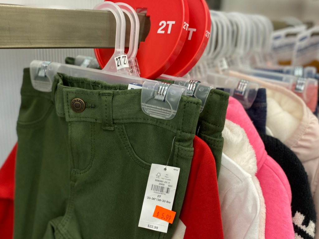 baby girl pants on clearance at old navy