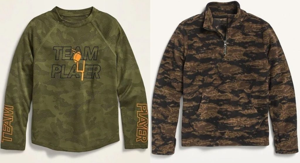 two old Navy Tops for boys