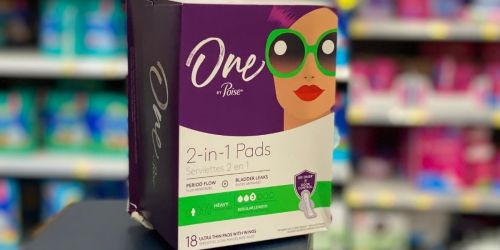 $3/1 One by Poise Product Coupon Available to Print