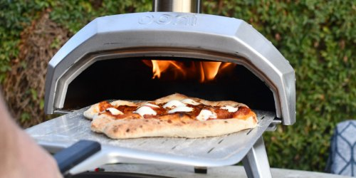 I Make Wood-Fired Pizza at Home in 90 Seconds Using My New Portable Pizza Oven!