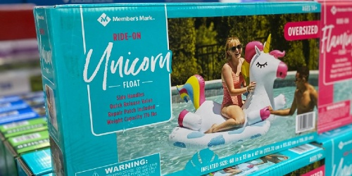 These HUGE Inflatable Pool Floats Are Just $14.98 at Sam's Club