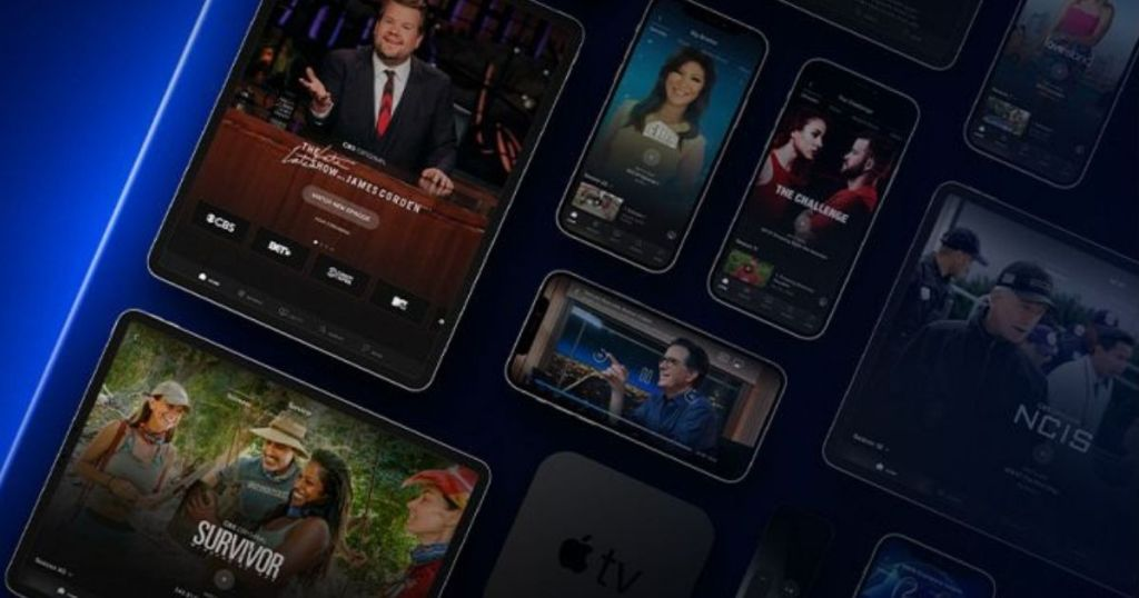 Paramount Plus on multiple devices