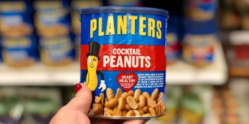 3 Planters Cocktail Peanuts 16oz Cans Only $5.63 Shipped on Amazon | Just $1.88 Each