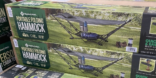 Member's Mark Portable Hammock Only $69.98 at Sam's Club | Assembles in Just 60 Seconds