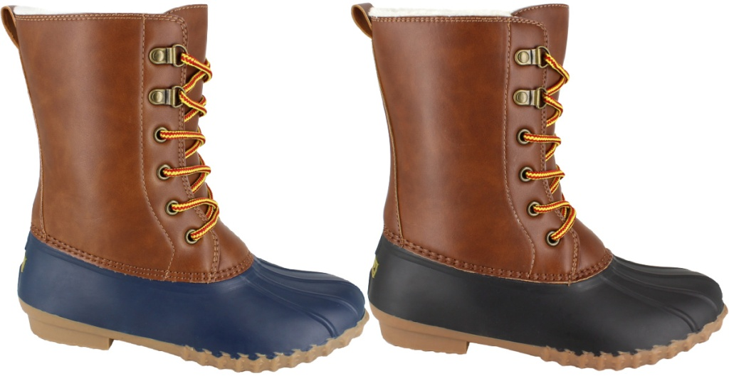 """Portland Boot Company Camille 8"""" Lined Duck Boot"""