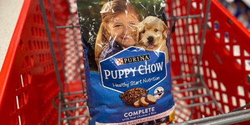 Up to 40% Off Purina Puppy Chow Dog Food at Target