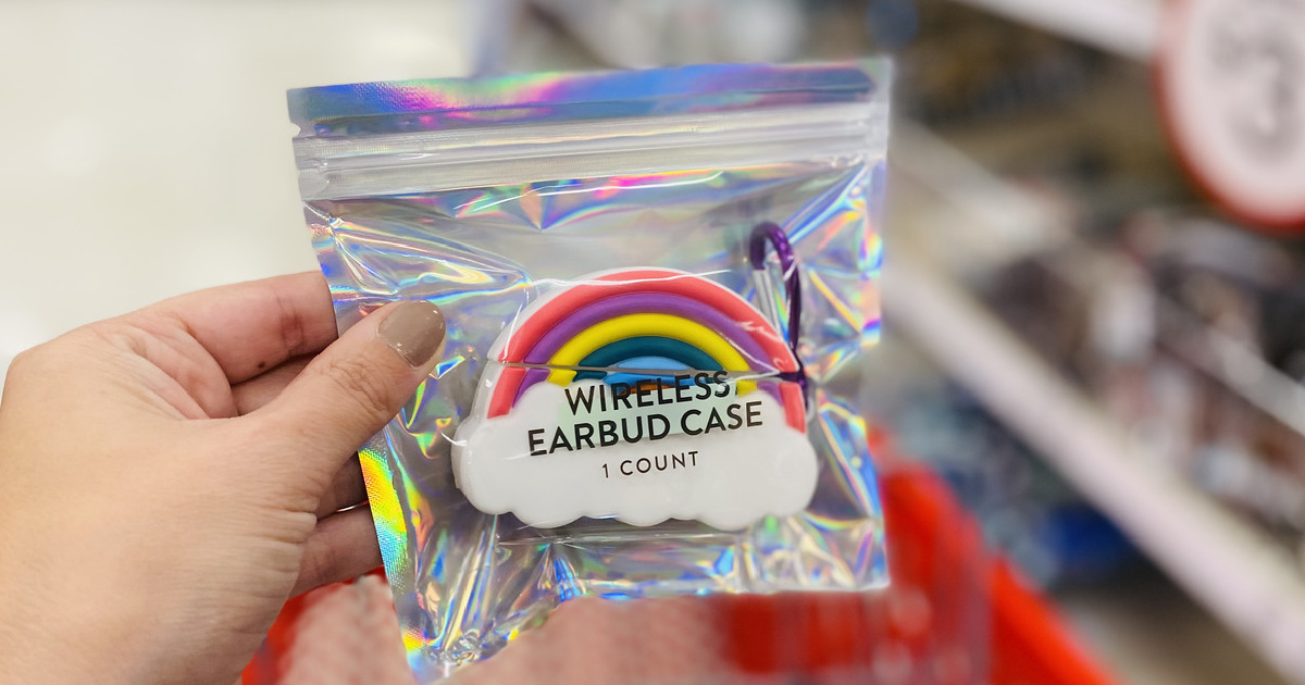 Rainbow Earbuds Case