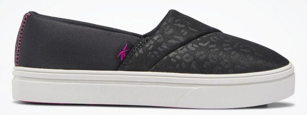 Black Reebok Ladies Katura Slip-On Sneakers