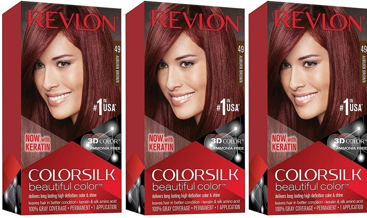 Revlon Colorsilk Hair Dye 3-pack