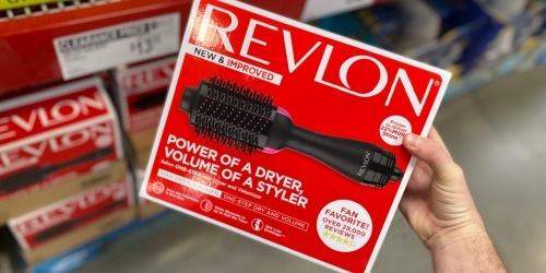 Revlon One-Step Hair Dryer & Volumizer Possibly Just $13.71 at Sam's Club | In-Store Only