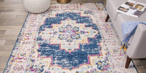 Bohemian 5′ x 7′ Area Rug Only $33.80 Shipped on Amazon (Regularly $100)