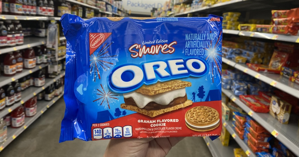 S'Mores Oreos Graham Flavored Cookies