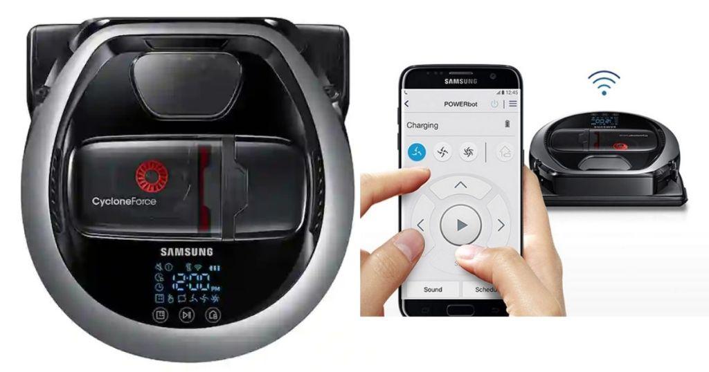 2 views of Samsung Powerbot 7065
