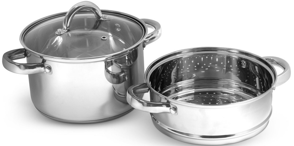 stainless steel pot and insert