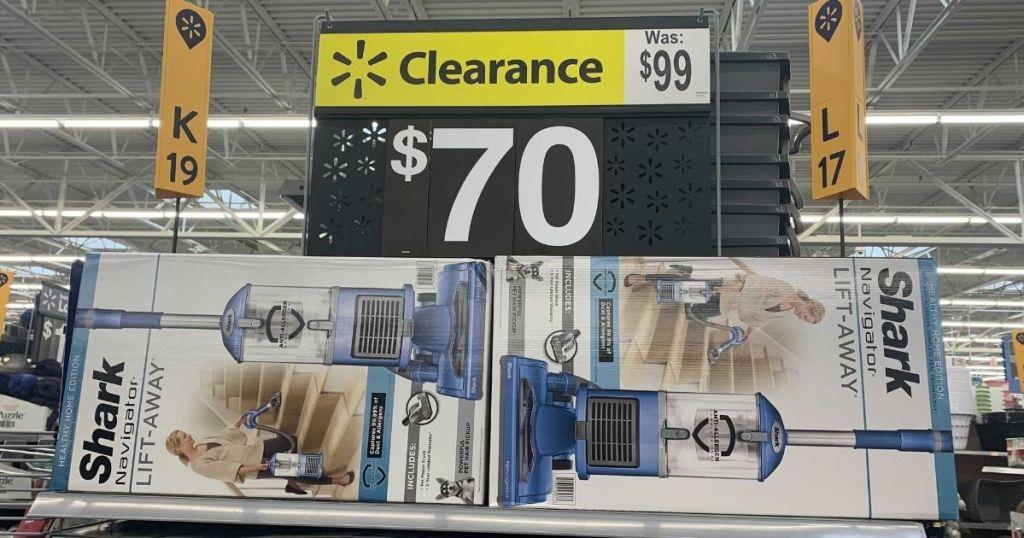 Shark Navigator Vacuum on clearance at Walmart