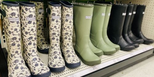 Who Needs Hunter Rain Boots When Target Sells These Cuties for $40 Shipped