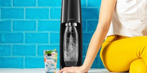SodaStream Fizzi Bundle Only $69.99 Shipped on Costco.com (Regularly $105)