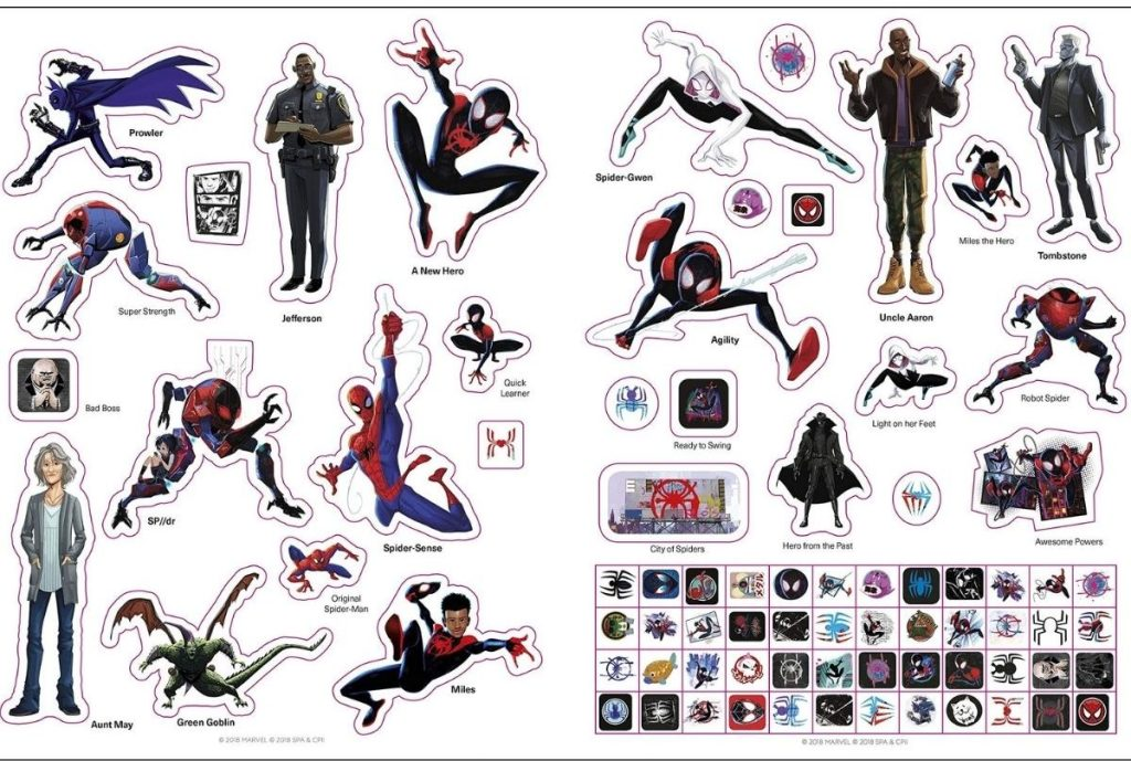 Spiderman Sticker Book