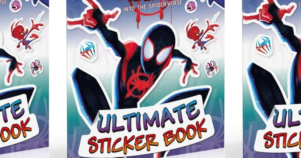 Spiderman Ultimate Sticker Book