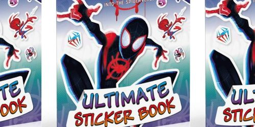 Marvel Spider-Man: Into the Spider-Verse Ultimate Sticker Book Only $3.59 (Regularly $7)