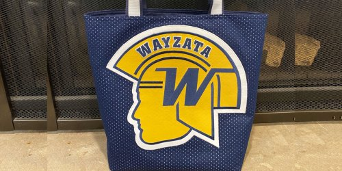 Check Out How This Reader Upcycles Old Team Gear into Beautiful Tote Bags