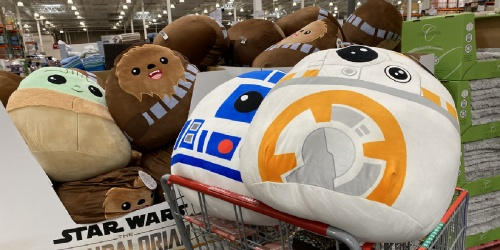 NEW Squishmallows Star Wars Plush Toys Only $19.99 at Costco