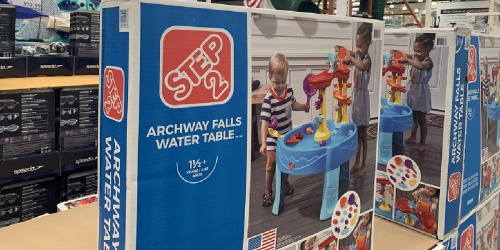Step2 Archway Falls Water Table Only $38.99 at Costco | Includes 13 Water Toys