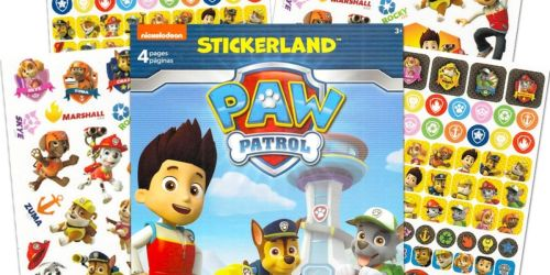2 Kids Sticker Pads Only $2.94 on Walmart.com | Paw Patrol, Minnie Mouse & More