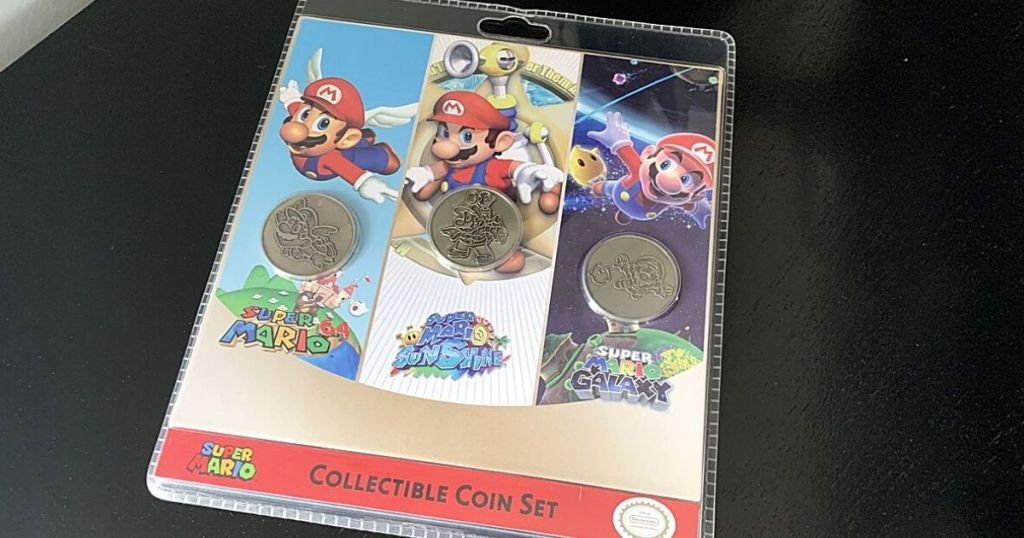 super Nintendo collectible coin set