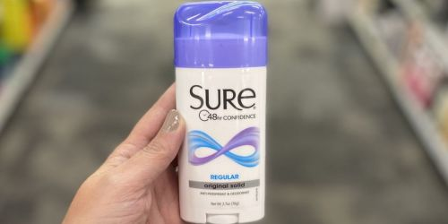 FREE Sure or Brut Deodorant After CVS Rewards (Starting 3/7)