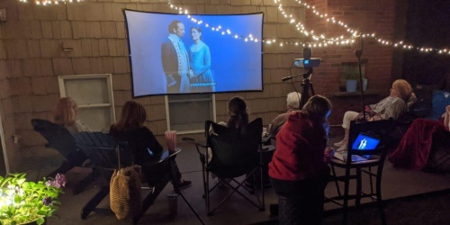 Portable Projector & 100″ Screen Only $62.99 Shipped on Amazon | Perfect for Movie Night!