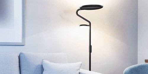 Adjustable LED Floor Lamp with Remote Only $39.99 Shipped on Amazon
