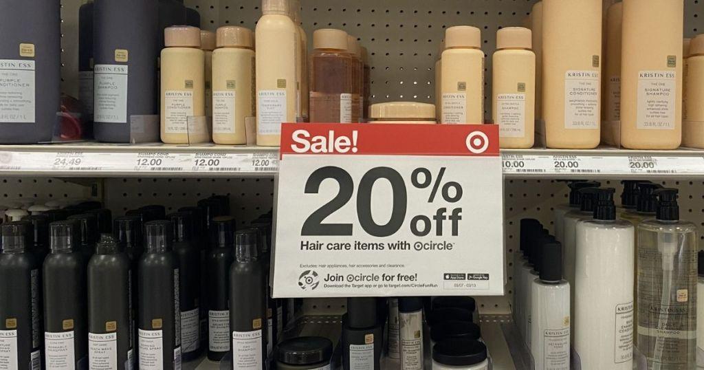 Target Circle sign