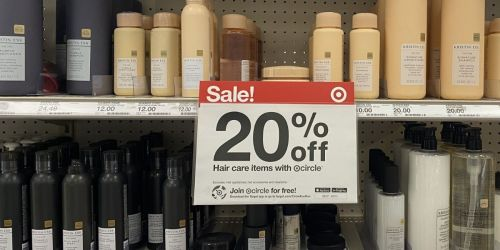 20% Off ALL Skincare & Haircare at Target | Lotion from 29¢, Hair Color from $1.33 + More