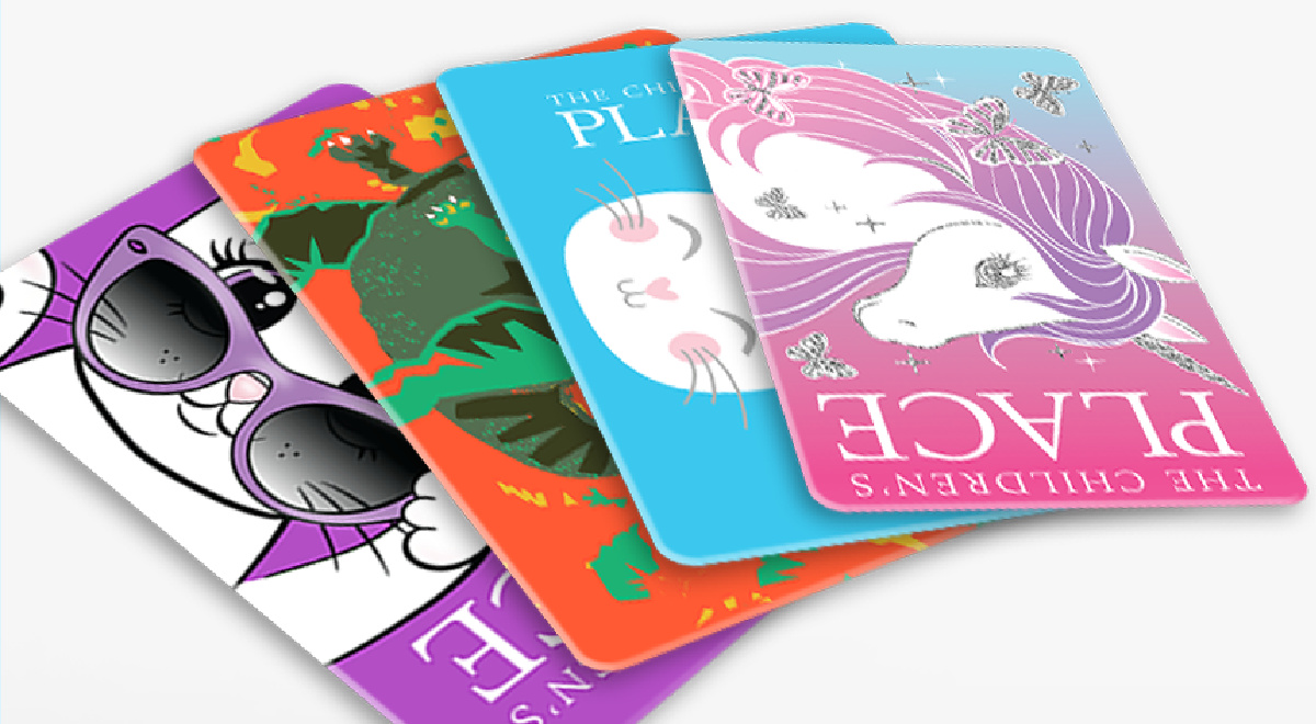 A selection of The children's Place gift cards