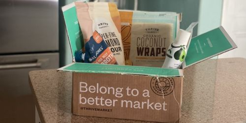 Free Product w/ New Thrive Market Membership + Our Fave Items to Buy (Coconut Wraps, Snacks, & More!)