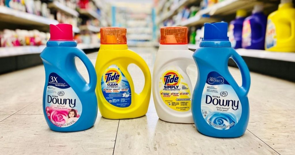 Tide Simply and Downy Walgreens