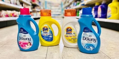 3 Tide Simply Detergents or Downy Fabric Softeners Only $4.97 After Walgreens Rewards | Just $1.66 Each
