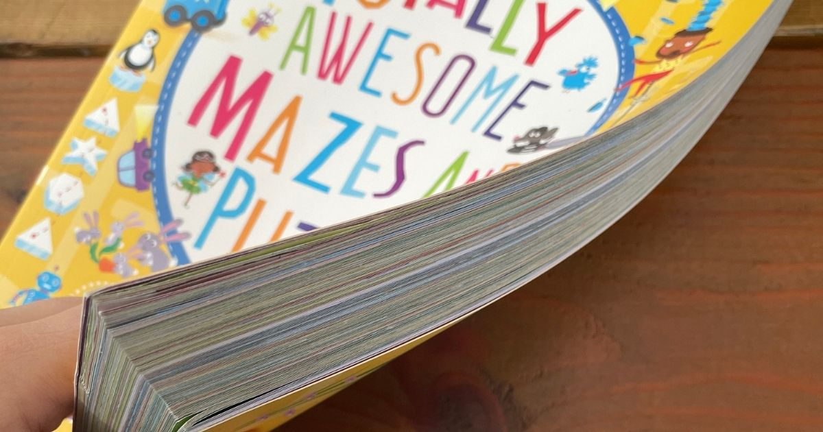 Awesome Mazes and Puzzle Book