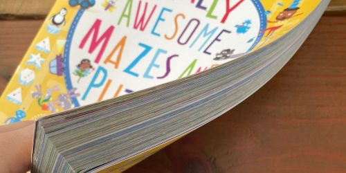 Mazes & Puzzles 256-Page Book Only $5.99 on Amazon (Regularly $13)