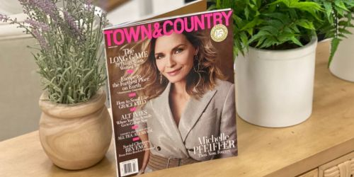 Complimentary TWO-Year Town & Country or Country Living Magazine Subscriptions