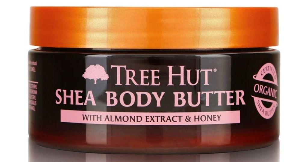 Tree Hut Almond Extract & Honey Shea Body Butter jar