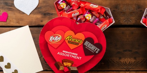 Valentine Chocolate Candy Boxes from $1.25 on Walmart.com | Hershey's, Reese's & More