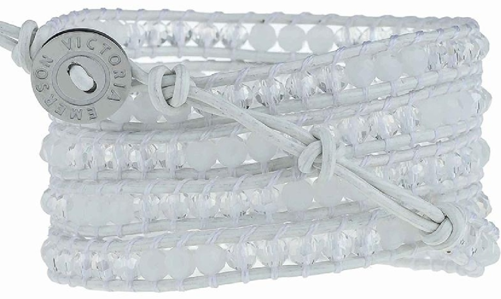 Victoria Emerson White Crystals on White