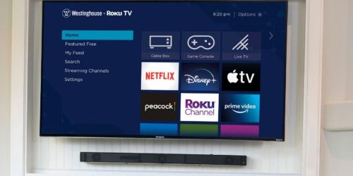 Westinghouse 42-Inch HD Smart Roku TV Only $169.99 on BestBuy.com (Regularly $210)